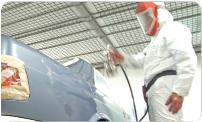 Curso de lanternagem e pintura automotiva
